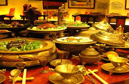 Cocina Chicna de la familia Li