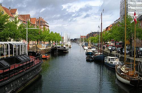 Copenhague, capital de Dinamarca