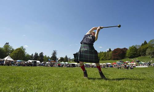 Highland Games en Escocia