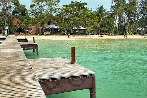 Isla de Koh Mak en Tailandia