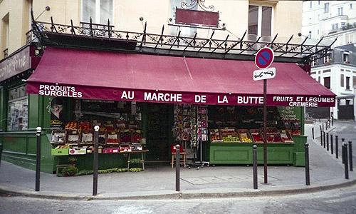 Marche de la Butte, París