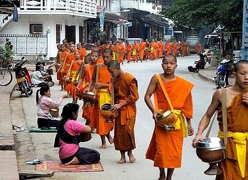 Monjes de Luang Prabang