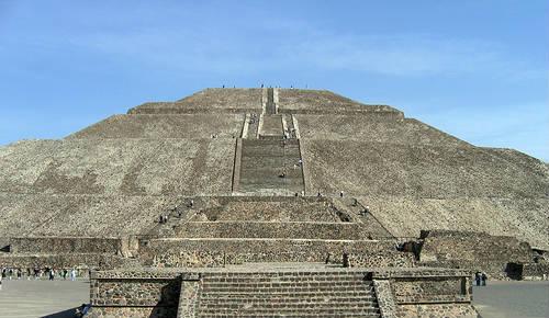 Pirámide de Sol en México