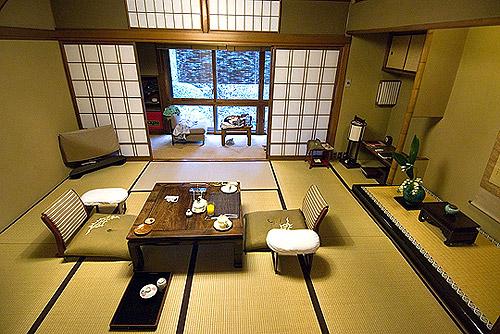 Ryokan casa tradicional japonesa blog de viajes for Interieur japonais