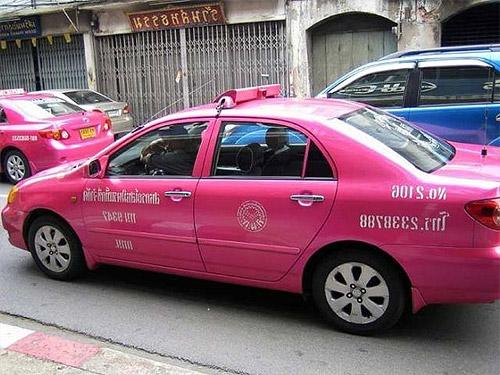 Taxis en Asia