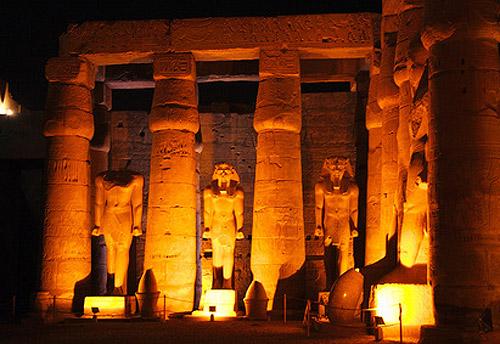 El Templor de Luxor en Egipto