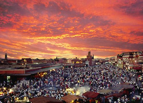 Vibrante Marrakech