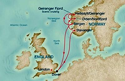 Cruceros Fiordos Noruegos - Foto 1