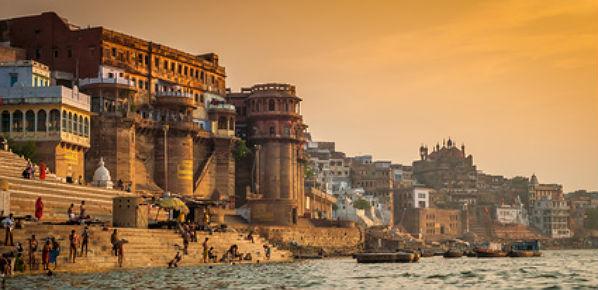 Triángulo de Oro con Benarés (Varanasi)